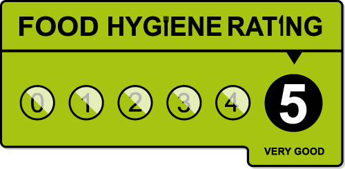 Rated 5 out of 5 (Very Good) for Food Hygiene