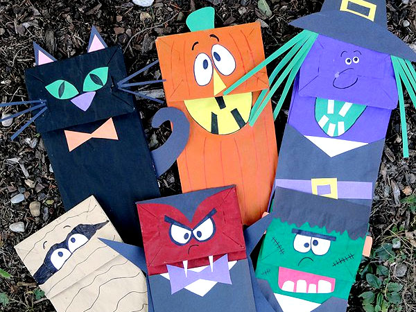 Scary Crafts at Little Giggles Nursery