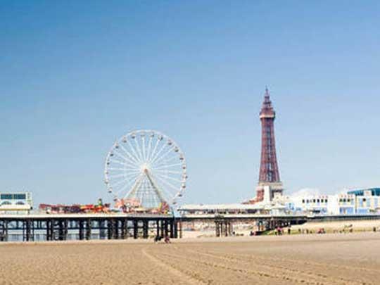 Blackpool Beach Trip