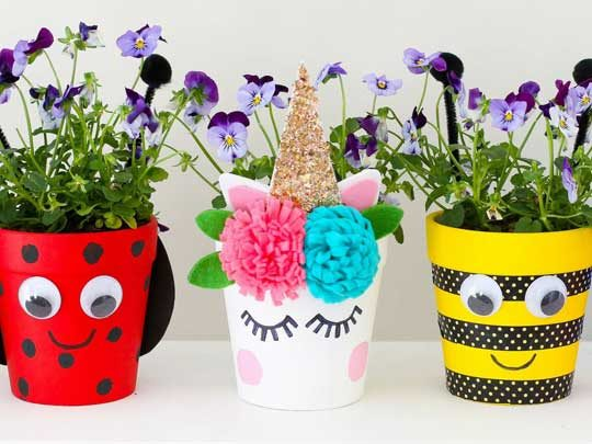 Decorate Plant Pots