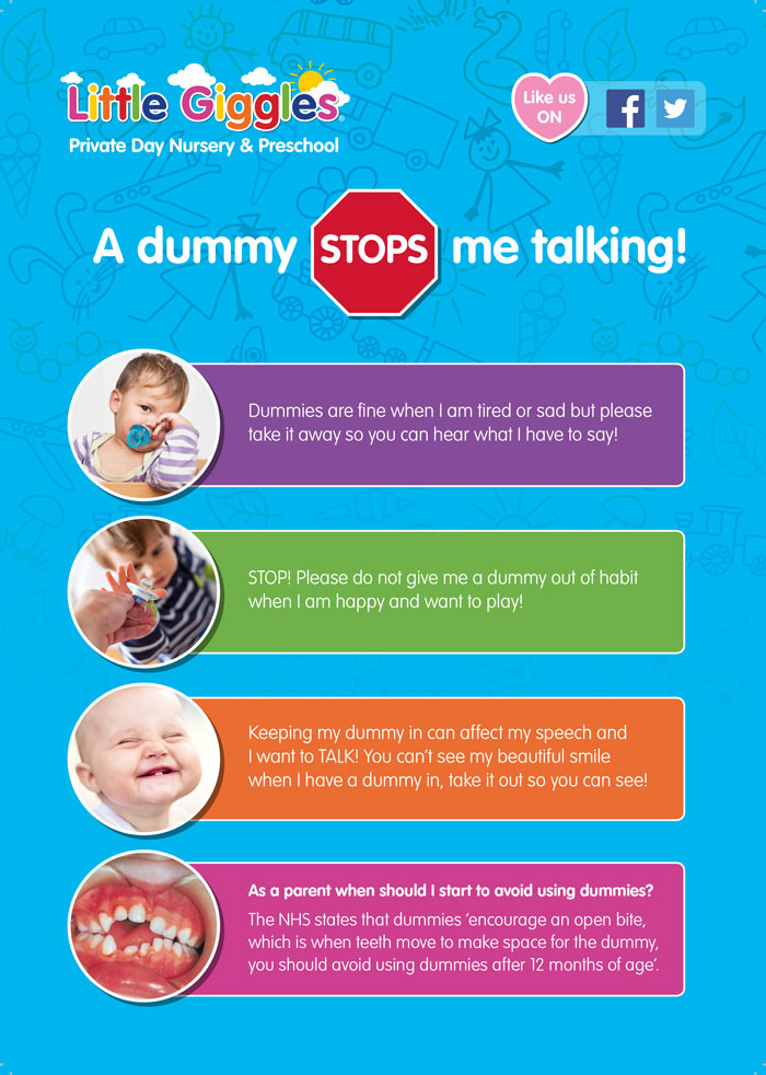 A dummy stops me talking!