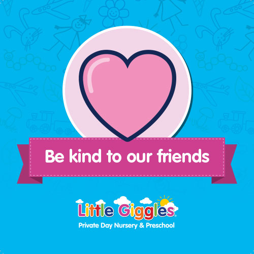 Class Rules - Be kind to our friends