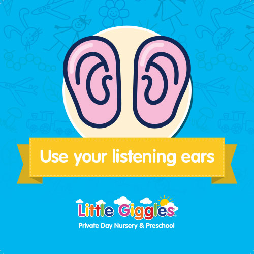 Class Rules - use your listening ears