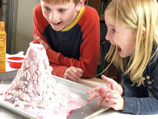 Volcano and Lava Making